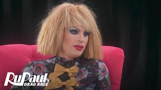 The Pit Stop S4 E6 | Katya Spills the Tea | RuPaul's Drag Race All Stars