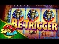 LIVE BONUSES RETRIGGER Pharaoh S Fortune 5c IGT Video Slot mp3