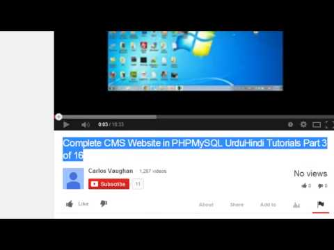 YouTube Content Protection & Copyrights in Urdu/Hindi