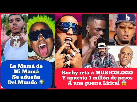"""ROCHY RD VS MUSICOLOGO """" RAMON ORLANDO VS JUAN LUIS GUERRA + EL ALFA LOGRA NUEVO RÉCORD EN TIKTOK"""