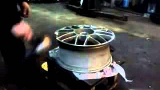 Сварка легкосплавного  диска аргоном(, 2015-02-23T13:19:10.000Z)