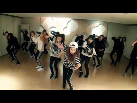 4MINUTE  Crazy Choreography Practice Video