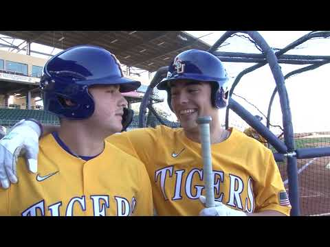 LSU Baseball's First Official Practice At Media Day