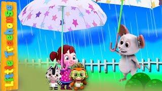 Я слышу гром | детские стишки | Детские песни | мультфильмы для детей | Little Treehouse