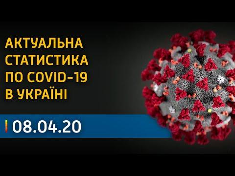 Неутешительная статистика по коронавирусу в Украине на 8 апреля   Вікна-Новини