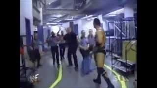 WWF-Awesome Segment Brawl The Rock Chris Benoit Edge Christian…