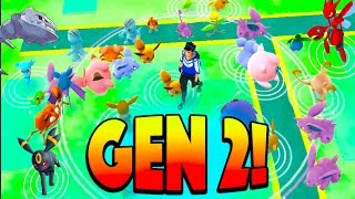 COLLECTING GENERATION 2 POKEMON CANDY! Preparing for the Pokemon Go Generation 2 Update!