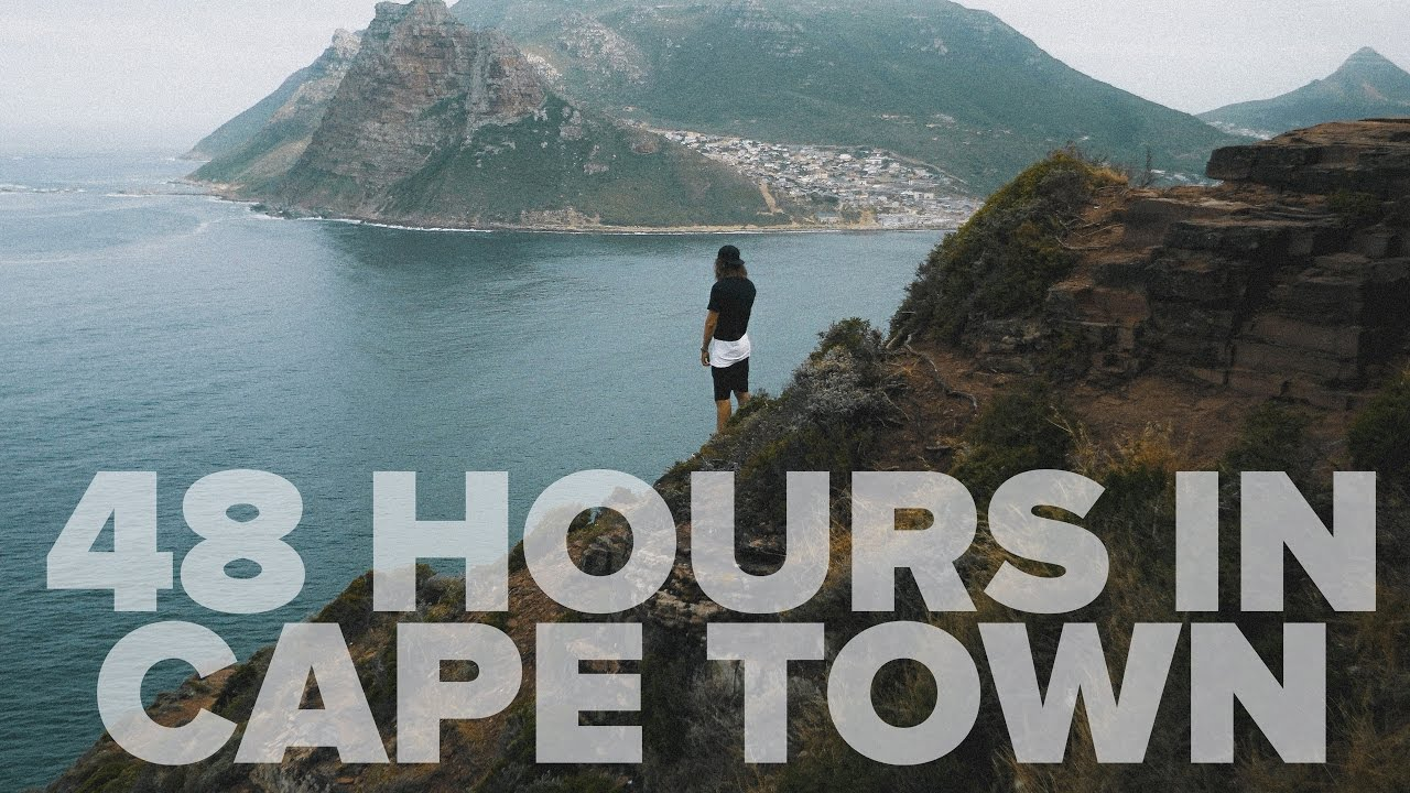 Cape Town with Olympic Swimmer Calvyn Justus