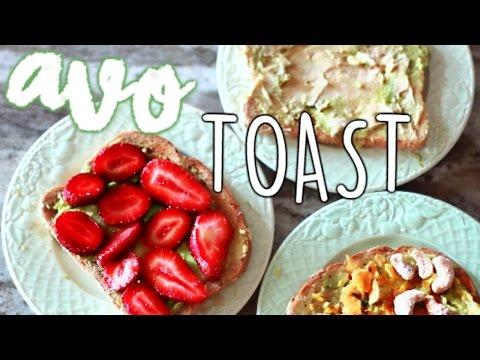 Avocado Toast 3 Different WAYS!