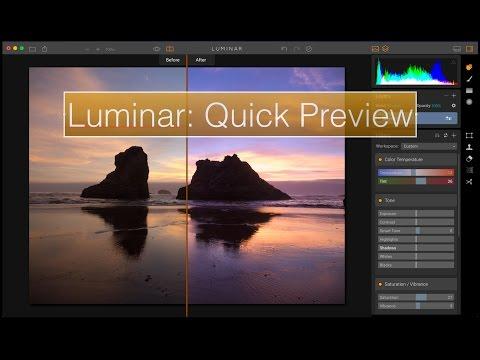Luminar Quick Preview