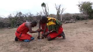 2016/12/8 ケニアのマサイマラ国立保護区で探鳥した際、マサイ族の村を...
