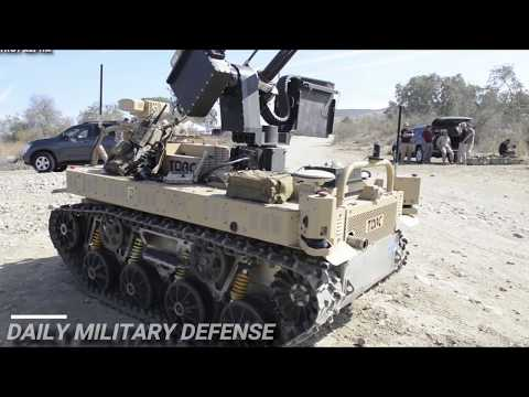 Focus! US Marines Test Robots Multi-Utility Tactical Transport (MUTT) an Drone
