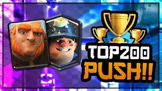 EXTREMELY FAST GIANT CYCLE DECK!! Top Ladder Pushing — Clash Royale