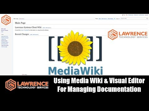 Using Media Wiki & Visual Editor For Managing Documentation