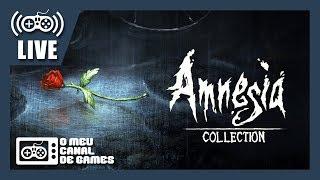 [Live] Amnesia: The Dark Descent (PS4 Pro) - CLÁSSICO DO TERROR AO VIVO