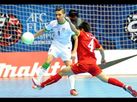 IRAN vs VIETNAM: AFC Futsal Championship 2016 (Semi Finals) - YouTube