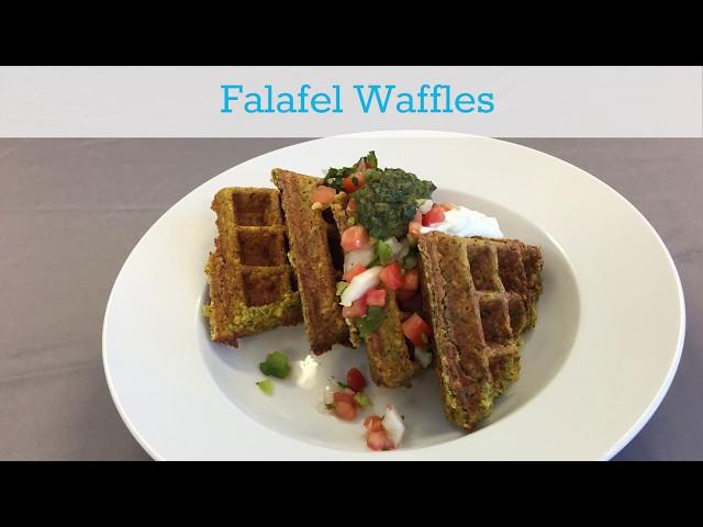 Menu Inspiration: Falafel Waffles