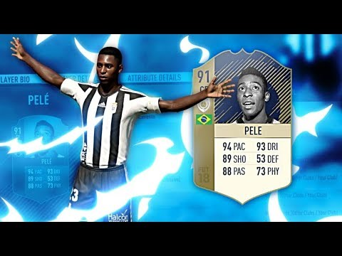FIFA 18 - THE FIRST 91 RATED ICON PELE GAMEPLAY!!!