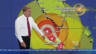Tracking Hurricane Irma 9-9-17 5pm Advisory thumbnail