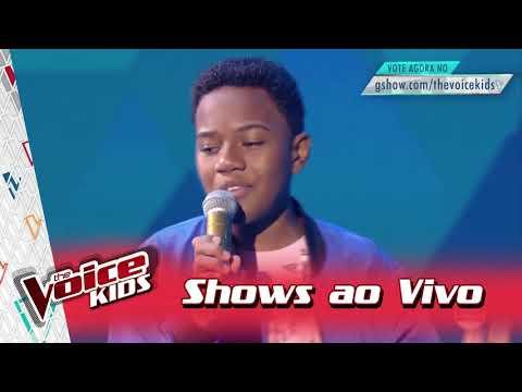 Victor Hugo canta 'Não quero mais' nos Shows Ao Vivo – 'The Voice Kids Brasil' | 3ª Temporada