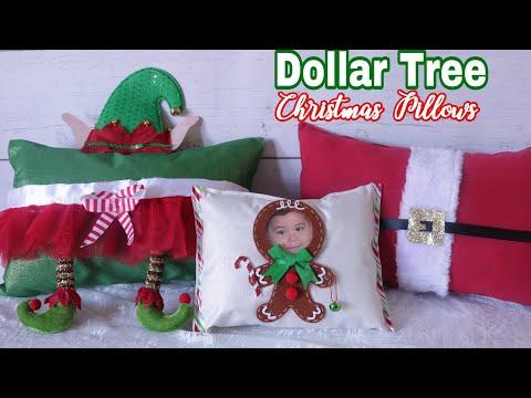 DOLLAR TREE DIY Christmas Pillows