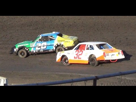 Mini Stock MAIN  7-9-16  Petaluma Speedway