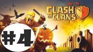 Clash of Clans Gameplay Walkthrough Part 4 - Attack on Goblin Gountlet