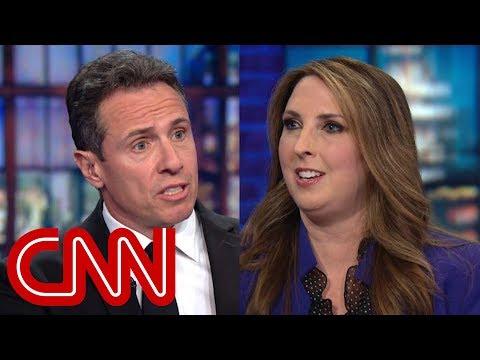 Cuomo presses RNC chief on Trump's morality