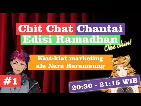 (Chit Chat Chantai) Kiat-kiat marketing ala Nara Haramaung【NIJISANJI ID】
