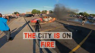 Minneapolis Riots   Moto Vlog
