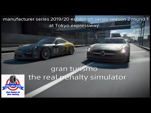 FIA Manufacturers Series 2019/20 Exhibition Series Season 2 Round 1 At Tokyo Expressway