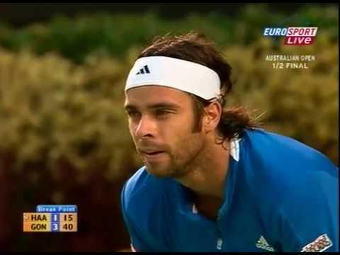 Fernando González vs Tommy Haas - 2007 Australian Open SF (FULL)
