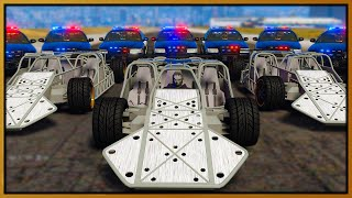 GTA 5 Roleplay - 3 JET FLIP CARS DESTROY COPS | RedlineRP