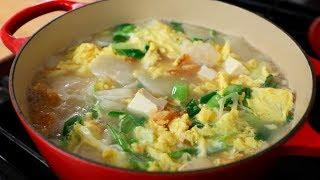 Bugeoguk (Dried pollock soup: 북어국)