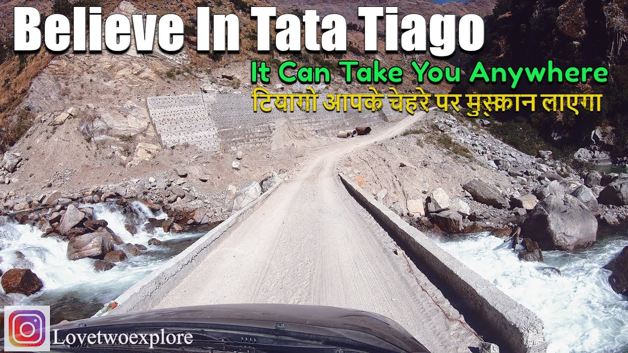 Believe in Tata Tiago   It Can Go Anywhere   Very Bad Roads Covered in Tiago with 13 Inches Tyres