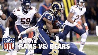 Todd Gurley Hurdles Over Defender for Huge Gain! | Bears vs. Rams | NFL