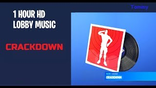 Fortnite - Crackdown Lobby Music HD *1 HOUR*