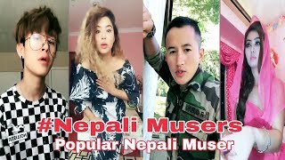 Popular Nepali Muser Musical.ly Comedy Compilation  | Nepali Musers | Musically Nepal