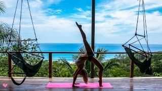Peaceful Yoga Workout  Core & Balance | Jane of the Jungle Flow