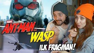 Bu Nasıl Muhteşem Bir Fragman! ANTMAN And The WASP TEPKİ & REACTION