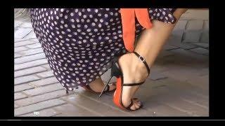 Spectacular legs & wonderful heels...