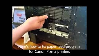 How to fix a Canon paper feed problem
