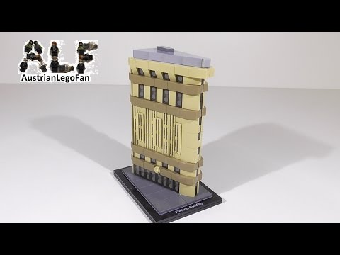 Lego Architecture 21023 Flatiron Building - Lego Speed Build Review