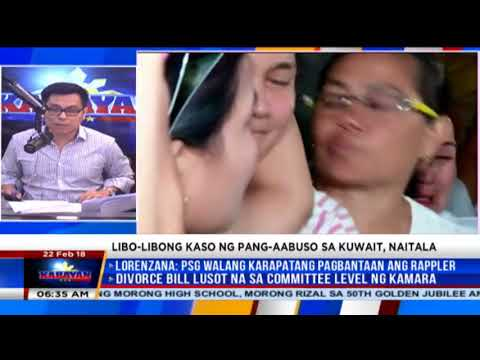 Filipina found comatose in Kuwait? PH still verifying