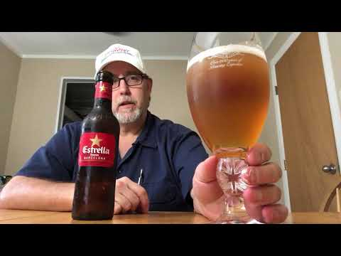 The Beer Review Guy #1092 Estrella Damm Beer 5.4% abv ( Revisit)