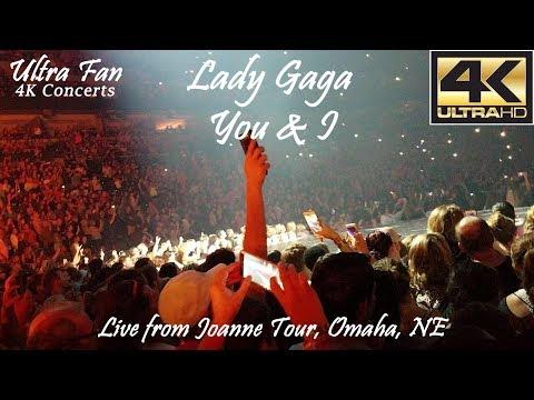 Lady Gaga - You & I Live from Joanne World Tour Omaha, NE