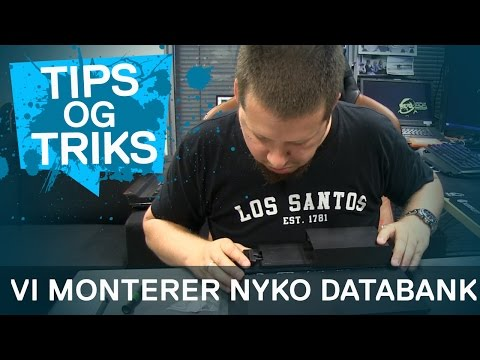 Hvordan montere NYKO Databank | Norsk How-to