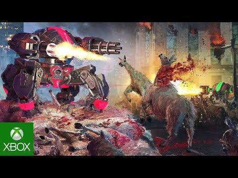 Vicious Attack Llama Apocalypse - Release Date Announce Trailer