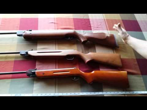 unboxing b2 model air rifle from princess auto + HW 80 weihrauch and slavia 630 .. 20160309 180021