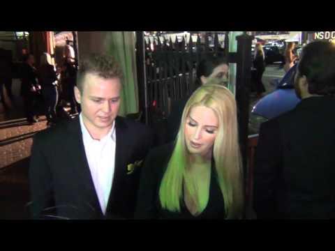 Spencer Pratt and Heidi Montag at Reality TV Awards at Reality TV Awards